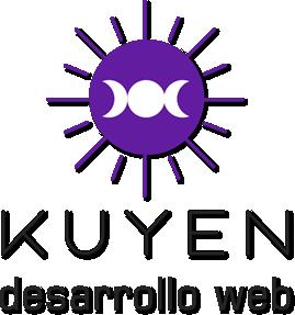 logo kuyen desarrollo web sombreado